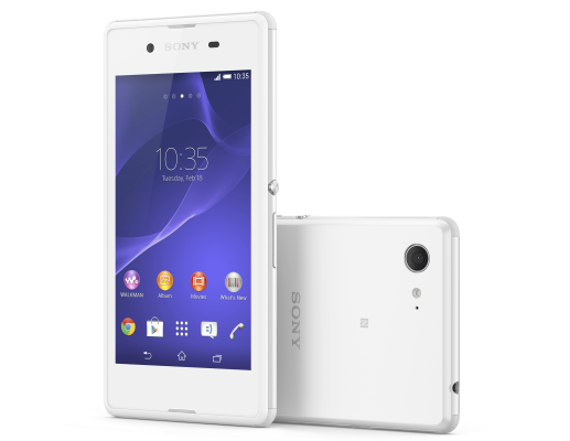 Sony Xperia E3 - Latest Smartphones under 10000