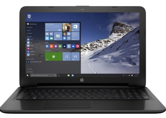 HP 15-af130nr 15.6 Inch - Laptops With Backlit Keyboard under $500