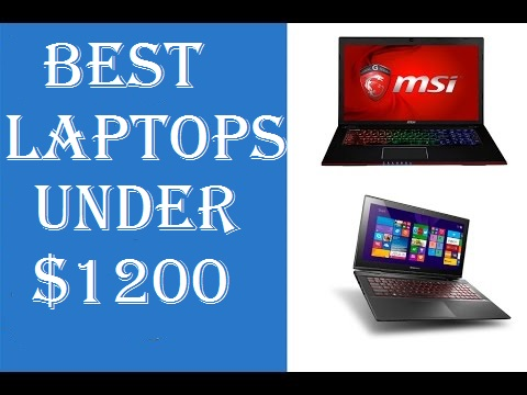 best laptop under 1200 dollars