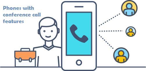 phones with conference call features