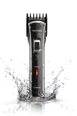 Nova NHT - 1020 100% Waterproof Rechargeable Cordless Beard Trimmer for Men