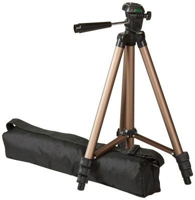 AmazonBasics 50-inch Tripod with Bag