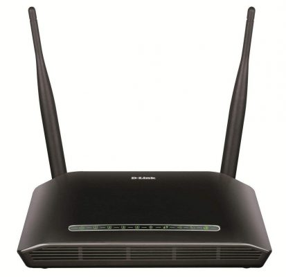 D-Link DSL-2750U Wireless N ADSL2+ 4-Port Wi-Fi Router