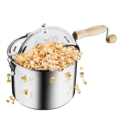 Great Northern Popcorn Original Stainless Steel Stove Popper