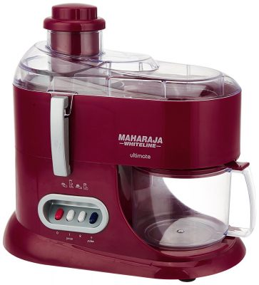 Maharaja Whiteline JMG Ultimate Treasure JX-101 550-W Juicer Mixer Grinder