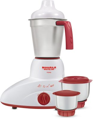 Maharaja Whiteline Nano Happiness 500-Watt Mixer Grinder