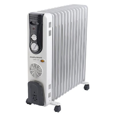 Morphy Richards OFR13F - 13 Fin Oil Filled Radiator With PTC Fan Heater