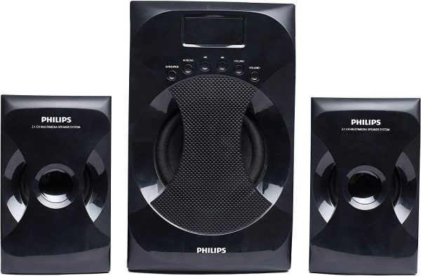 Philips MMS-4040F-94 2.1 Channel Multimedia Speaker System