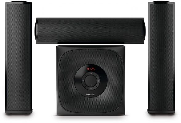 Philips MMS3160B-94 3.1 Channel Multimedia Speaker System