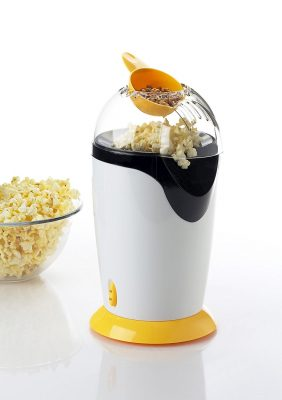 Sheffield Classic Plastic 1200 W Oil Free Snacks Cum Pop Corn Maker