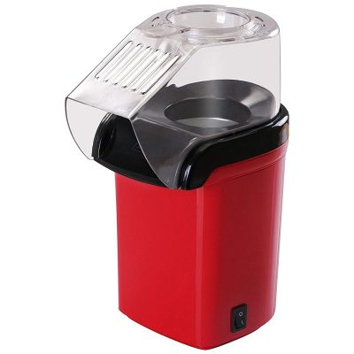 Shopizone Quick & Easy Popcorn Maker One Key Operation 1200W Power Oil Free