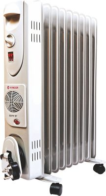 Singer OFR 9 FIN 2600 Watts Oil Filled Radiator Room Heater