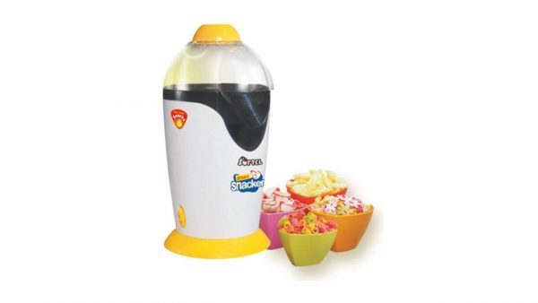 Softel Food Grade Plastic Smart Snack Maker and Popcorn Maker White And Yellow by Shopping Tadka