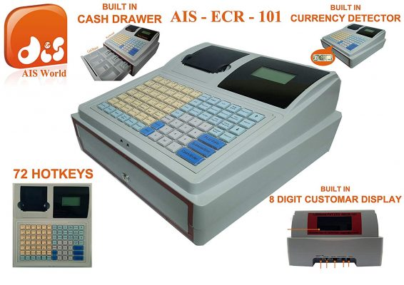 AISWORLD Electronic Cash Register Billing Machine