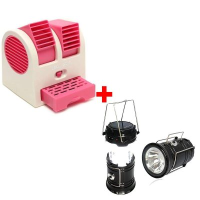 AK Group Mini Fan Usb And Battery Powered