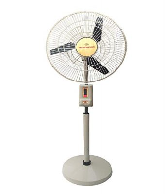Almonard 18 Mark-2 Pedstal Fan Ivory