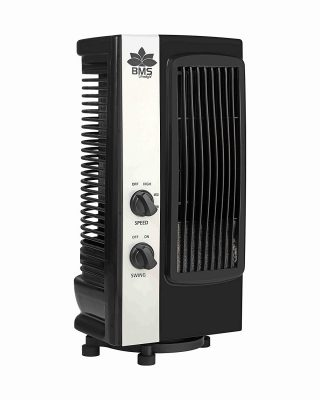 BMS Lifestyle Tf-101 Portable Mini Revolving & Oscillating Tower Fan