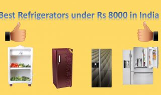 Best Refrigerators under Rs 8000 in India