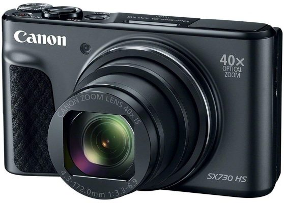 Canon PowerShot SX730 HS (Black) 20MP Digital Camera