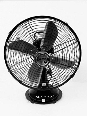 Cinni 300 mm Table Fan Black
