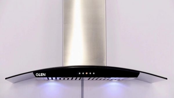 Glen 6071GF Designer Baffle Filter FRP Housing Hood Chimney