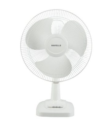 Havells Velocity Neo HS Table Fan (White)