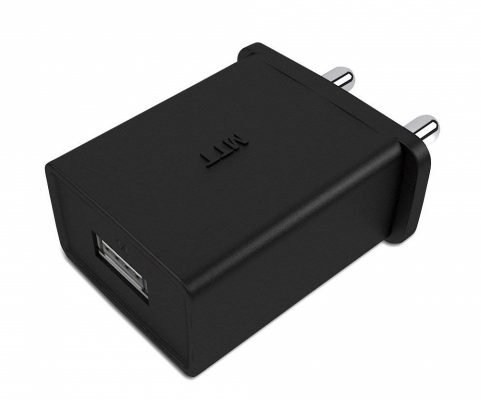 MTT 1A Single Port USB India Plug Wall Charger