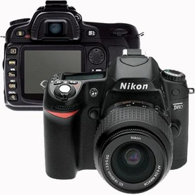 Nikon D80 10.2MP Digital SLR Camera
