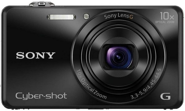 Sony Cybershot DSC-WX220/B 18.2MP Digital Camer