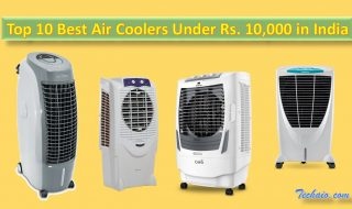 Top 10 Best Air Coolers Under Rs. 10,000 in India