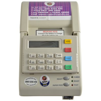 WEP BP-85T Standalone Billing Machine