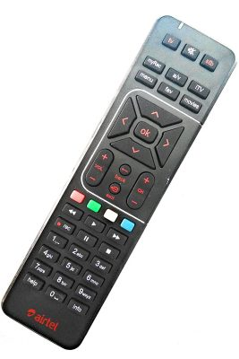 Airtel Digital TV DTH Remote Original SD/HD/HD Recording Compatible
