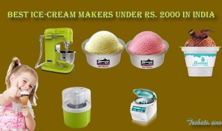Best Ice-Cream Makers Under Rs. 2000 In India