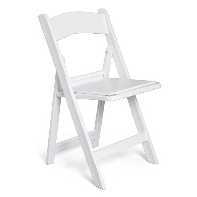 Comfold White Resin Folding Chair