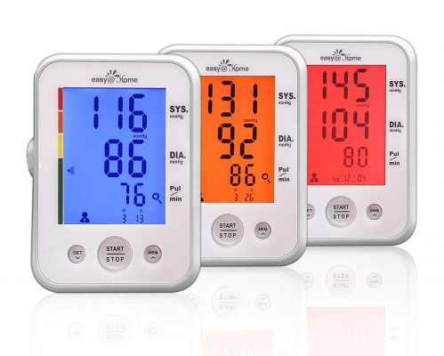 Easy Home Digital Upper Arm Blood Pressure Monitor
