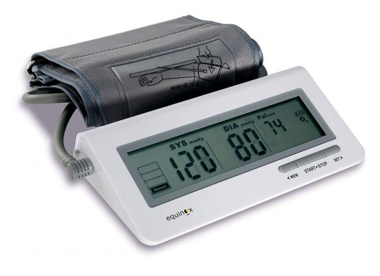 Equinox Digital Blood Pressure Monitor