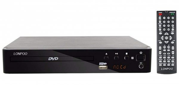 LONPOO 2.0CH Compact HD DVD Player