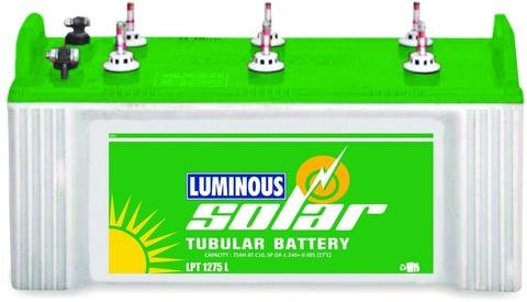 Luminous Solar 75Ah Tubular Battery