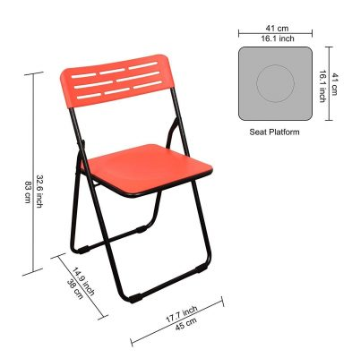 Parasnath Heavy Multipurpose Folding Plastic Chair