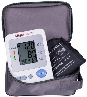 Slight Touch ST-401 Automatic Upper Arm Blood Pressure Monitor