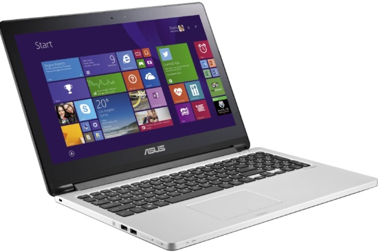 ASUS TP500LA-DS71T Flip Transformer Book Laptop
