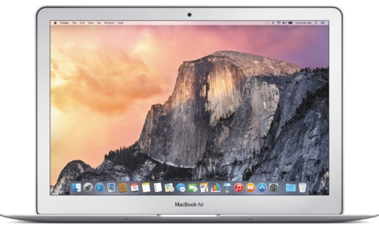 Apple MacBook Air MJVE2LL/A - best 2 in 1 laptops under 1000