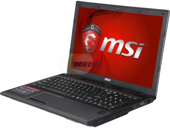 MSI GP Series GP60 Leopard-836 15.6-Inch Laptop