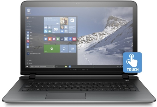 Newest HP Pavilion 17.3 Touchscreen Laptop
