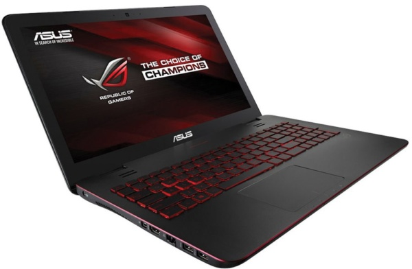 ASUS GL551 15-inch gaming laptops around 1000