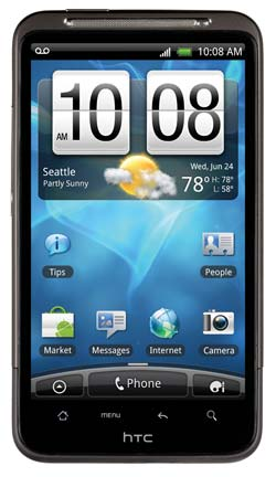 HTC Inspire-Best smart mobile phones