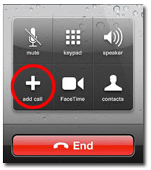Conference Call on iPhone