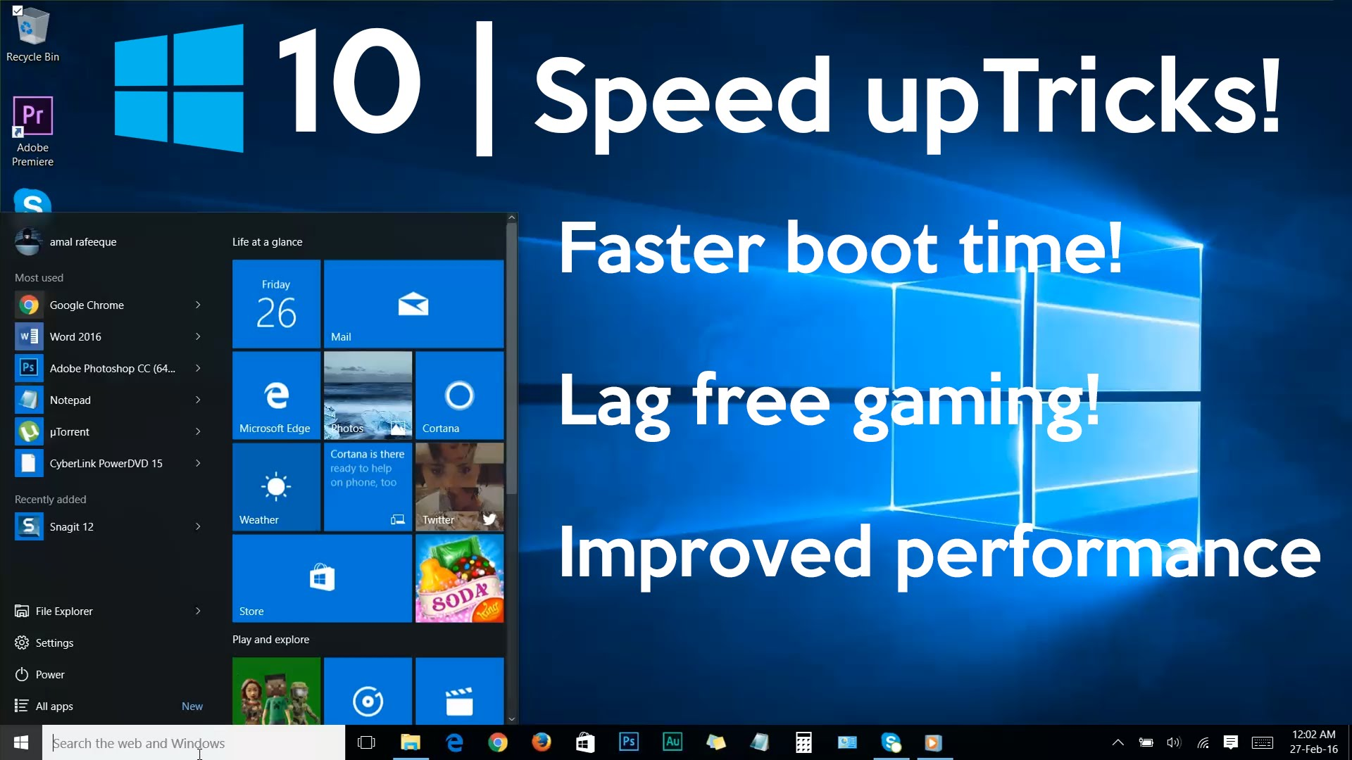 Windows 10 boots faster
