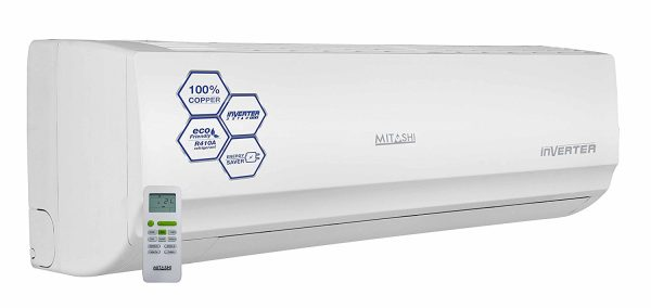 Mitashi 1.5 Ton 3 Star Inverter Split AC (Copper, INA318K50, White)