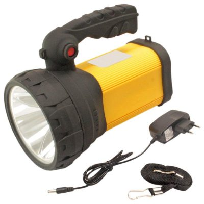 3Mode 10W Rechargeable LED Waterproof Flashlight Large Long range powerful Torch